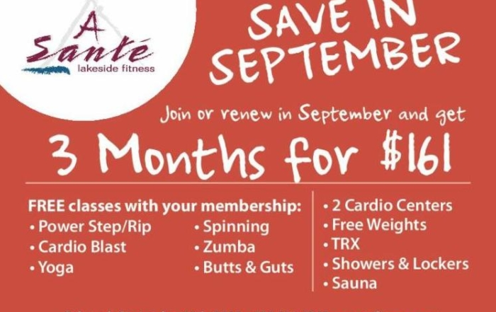 Save in September
