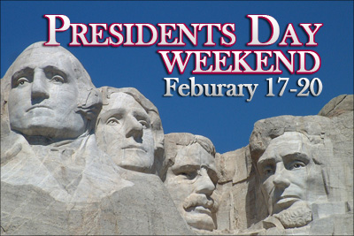 President's Weekend Hours @ A Sante'