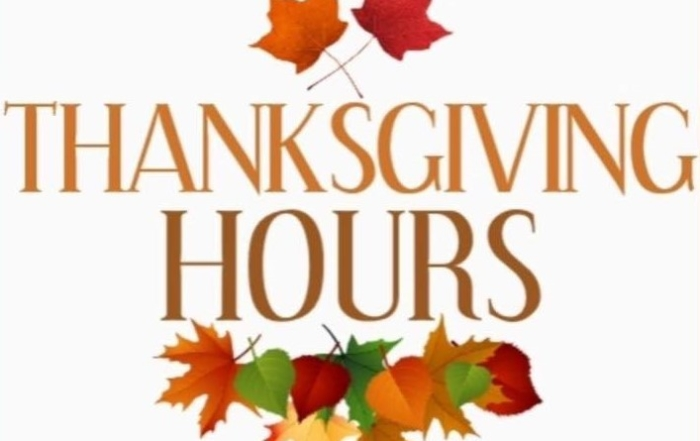 Thanksgiving Hours at A Sante' Fitness